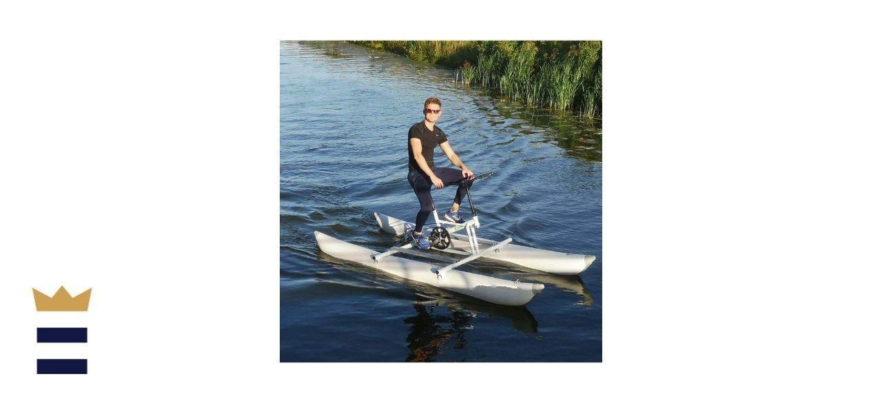 DIVTEK Inflatable Kayak & Pedal Boat