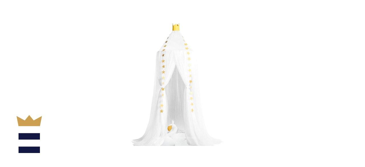 Dix-Rainbow Princess Bed Canopy