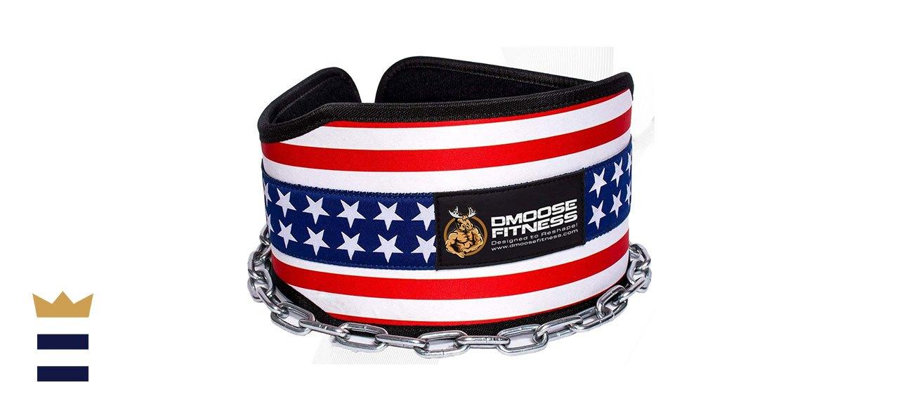 DMoose Fitness' Premium Dip Belt