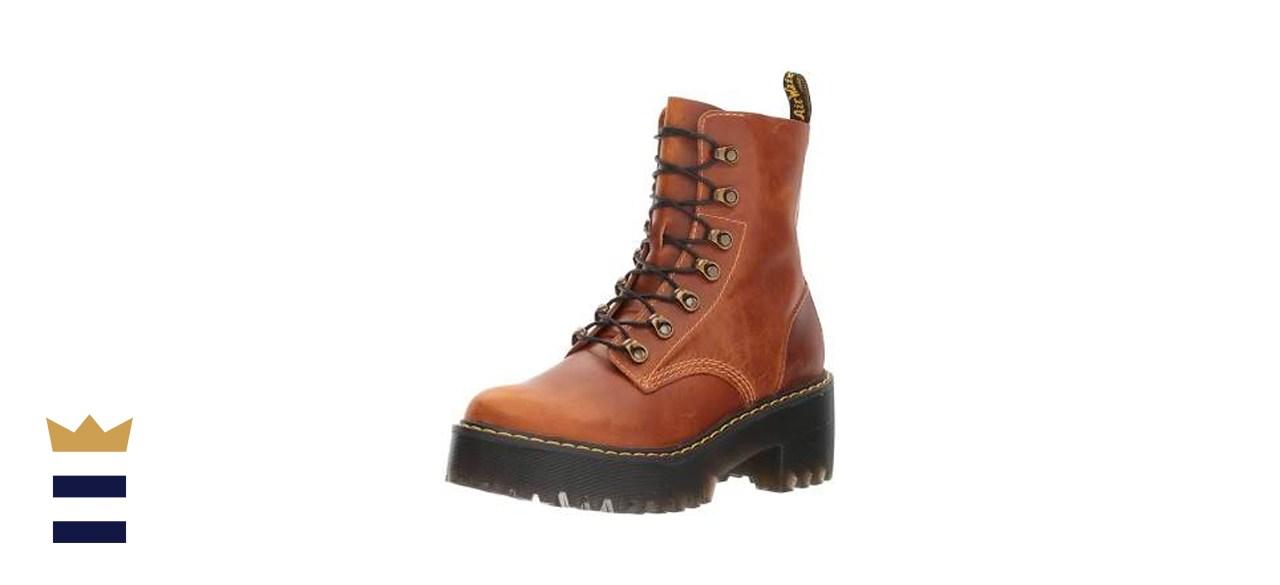 Doc Martens Women's Leona 7 Hook Boot