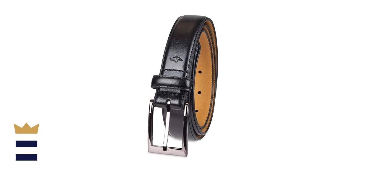 Dockers Men's Leather Dress Belt