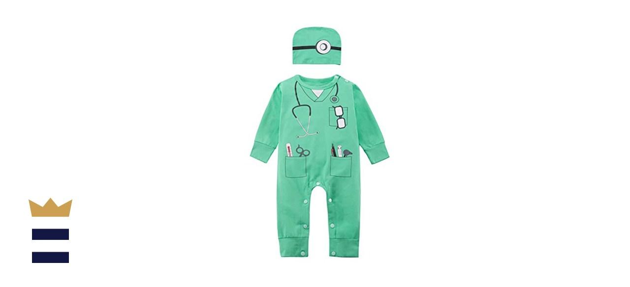 Doctor Costume Bodysuit
