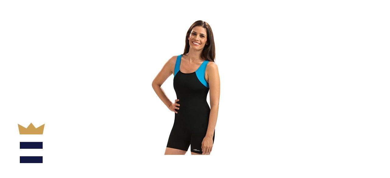 Dolfin Color Block Aquatard Swimsuit