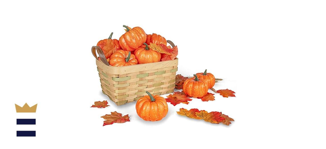 DomeStar Artificial Pumpkins for Decoration