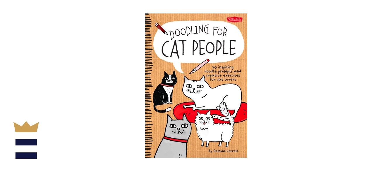 Doodling for Cat People Book