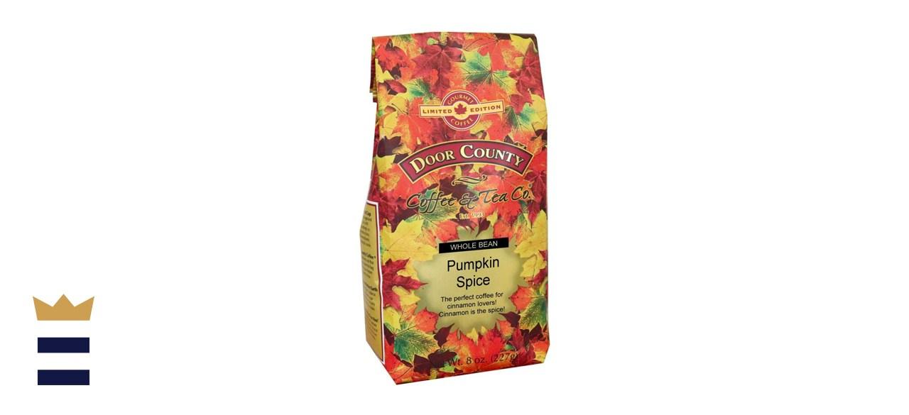 Door County Pumpkin Spice Whole Bean Coffee