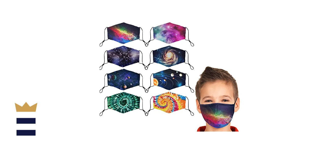 Doset Kids' Cloth Masks