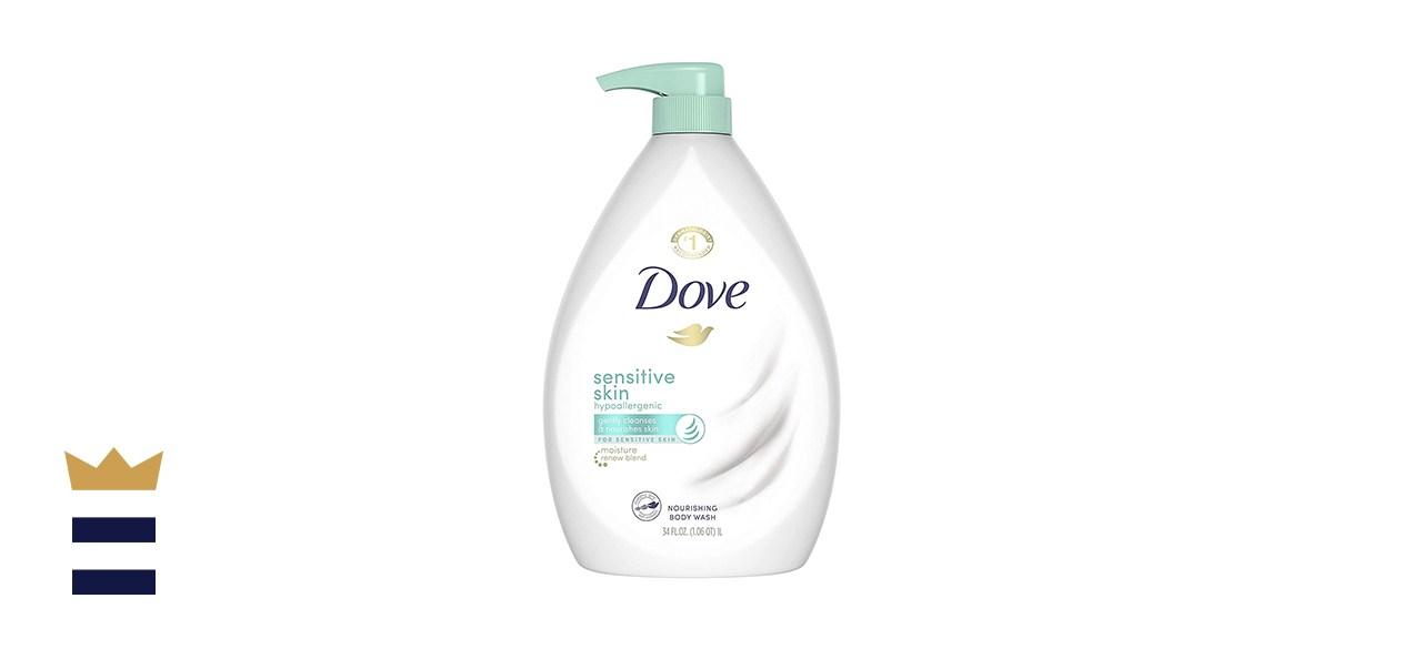 Dove Hypoallergenic Body Wash for Sensitive Skin