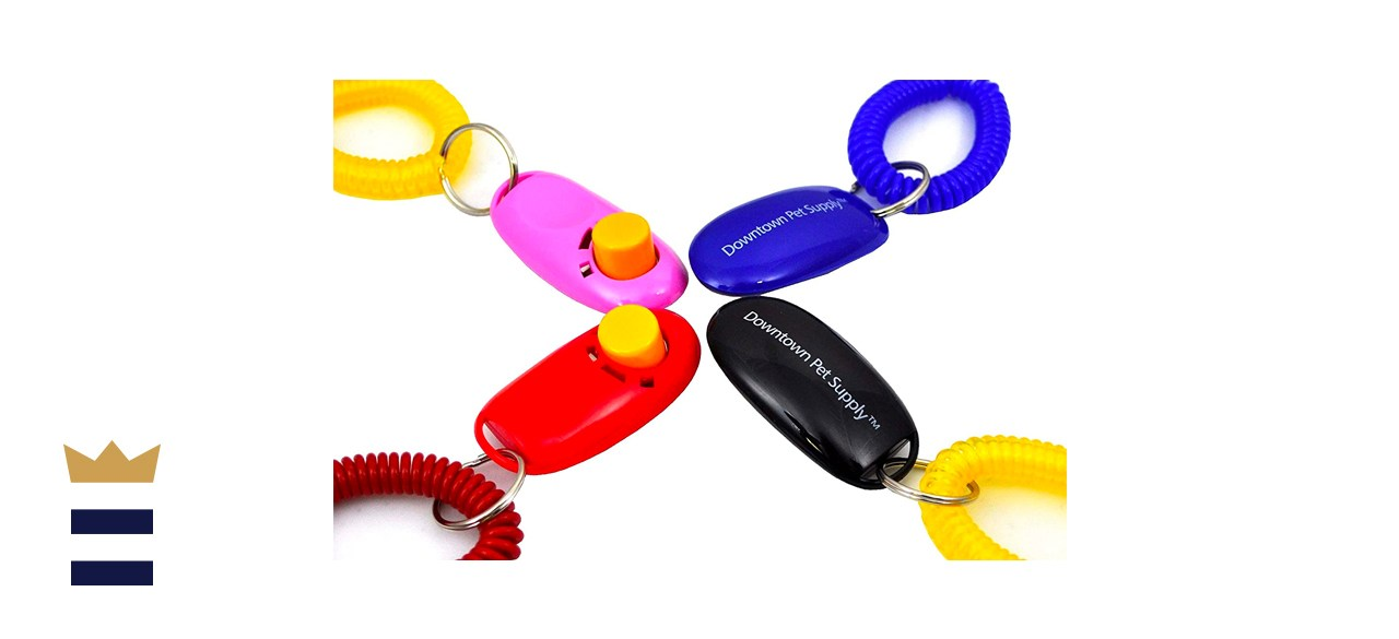 Downtown Pet Supply Big Button Training Clicker