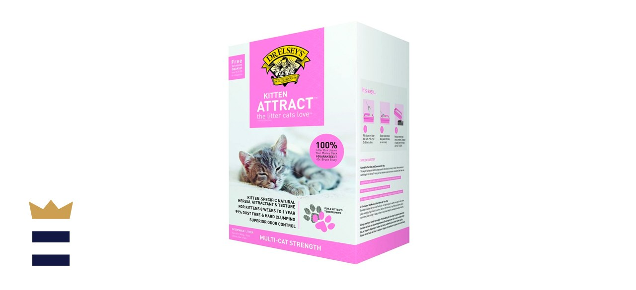 Dr. Elsey's Kitten Attract Clumping Clay Cat Litter