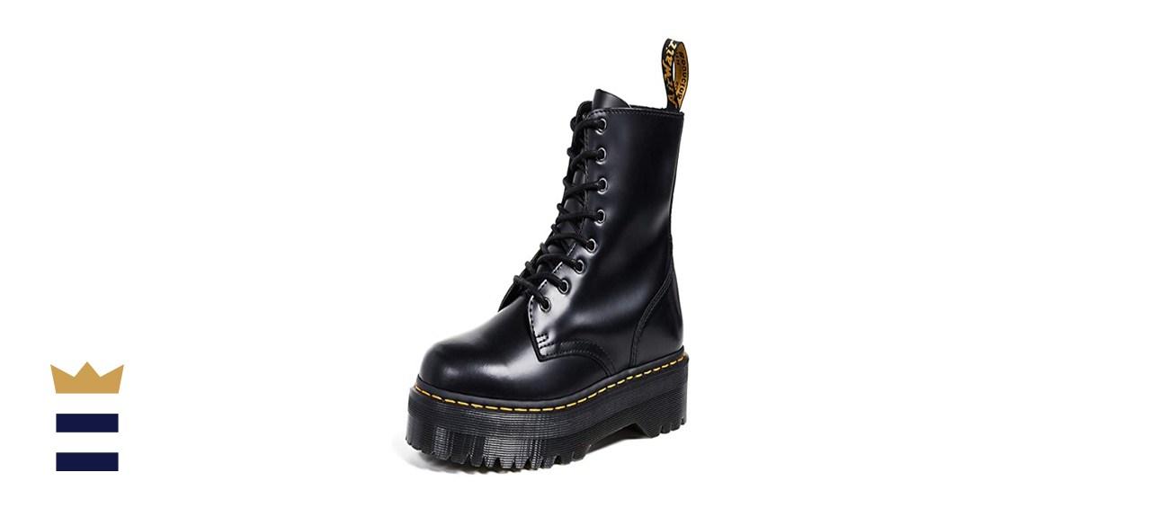 Dr. Martens Jadon 8-Eye Leather Platform Boot