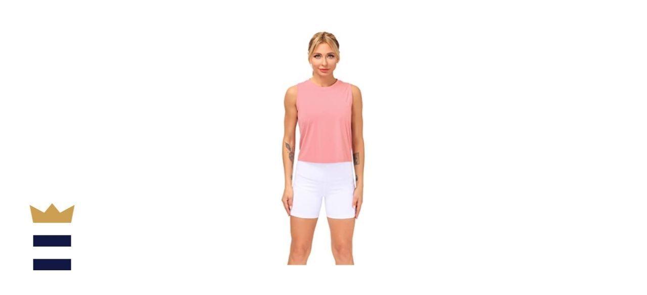 Dragon Fit Sleeveless Yoga T-Shirt
