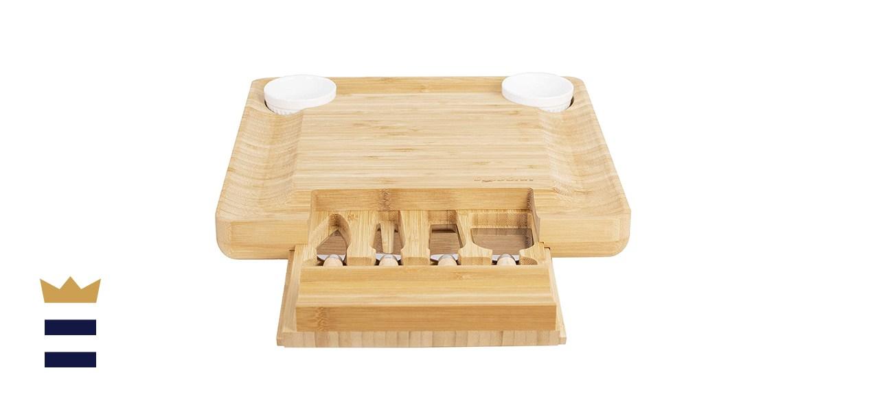 Dragonn Bamboo Cheese Board Set