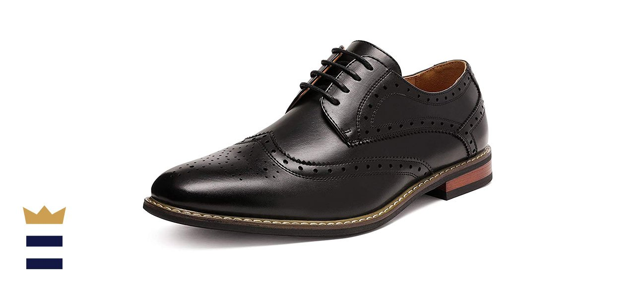 DREAM PAIRS Bruno Marc Moda Italy Oxford Wingtip Lace Up Dress Shoes