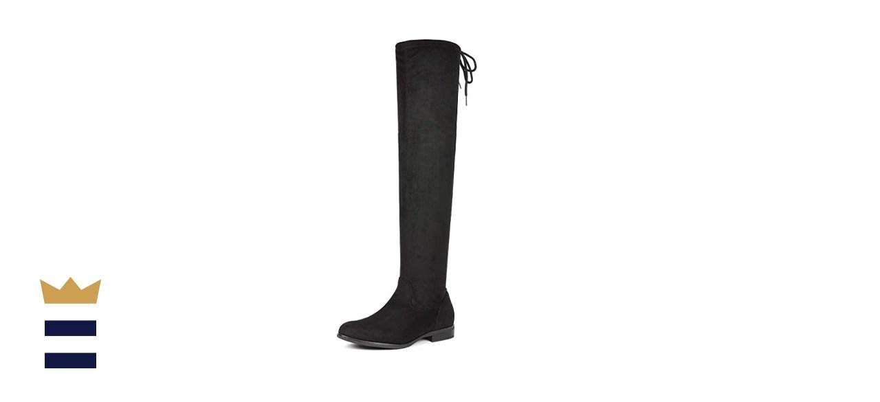 Dream Pairs Thigh-High Flat Boots