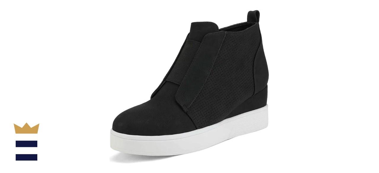 DREAM PAIRS Women's Platform Wedge Sneakers
