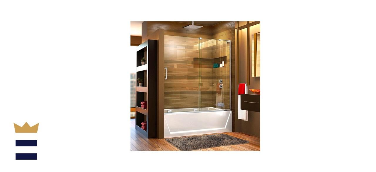 DreamLine Mirage-X 56-60-Inch Frameless Sliding Tub Door