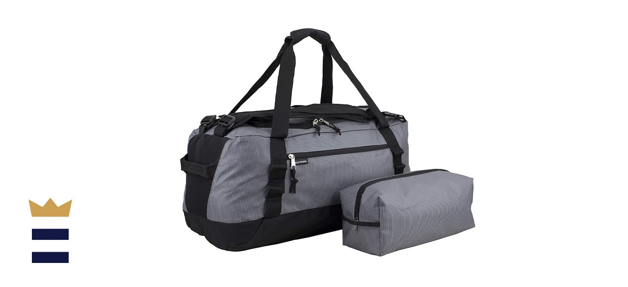 """Eastsport 2in1 Large Convertible Lightweight 24"""" Duffel Bag/Backpack for Travel"""