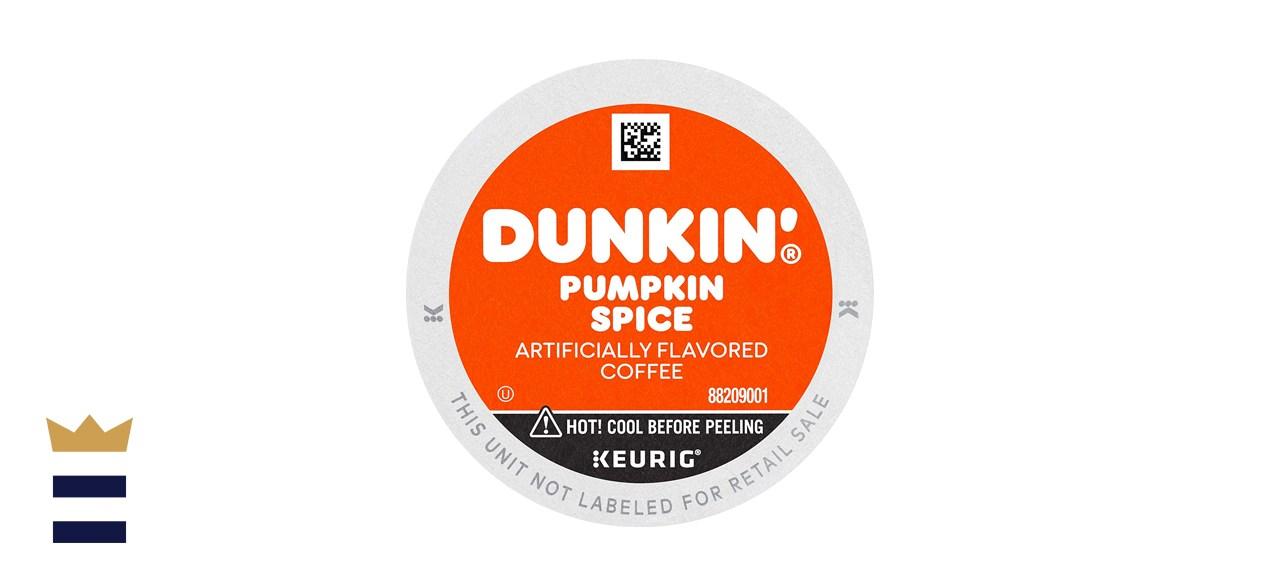 Dunkin' Pumpkin Spice Flavored Coffee Pods