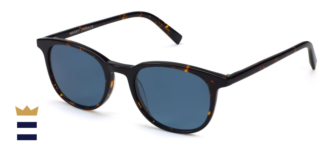 Warby Parker Durand Whiskey Tortoise