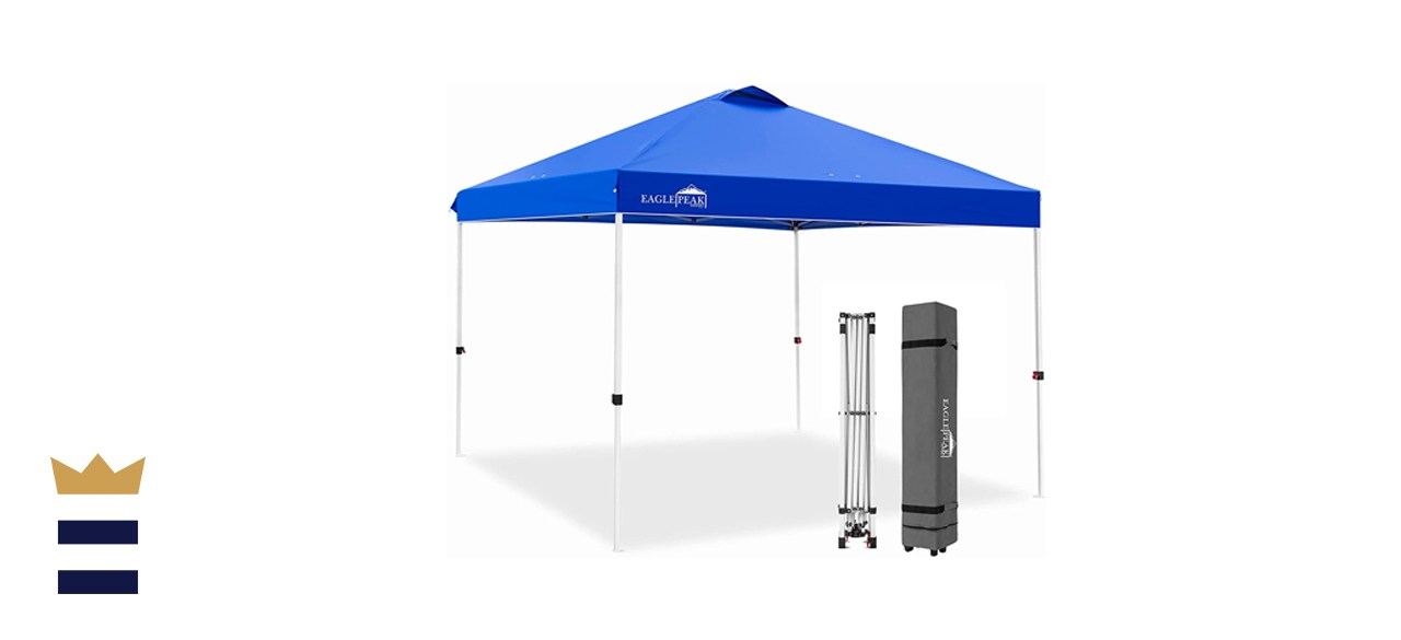 EAGLE PEAK 10-by-10-Inch Pop-Up Canopy Tent