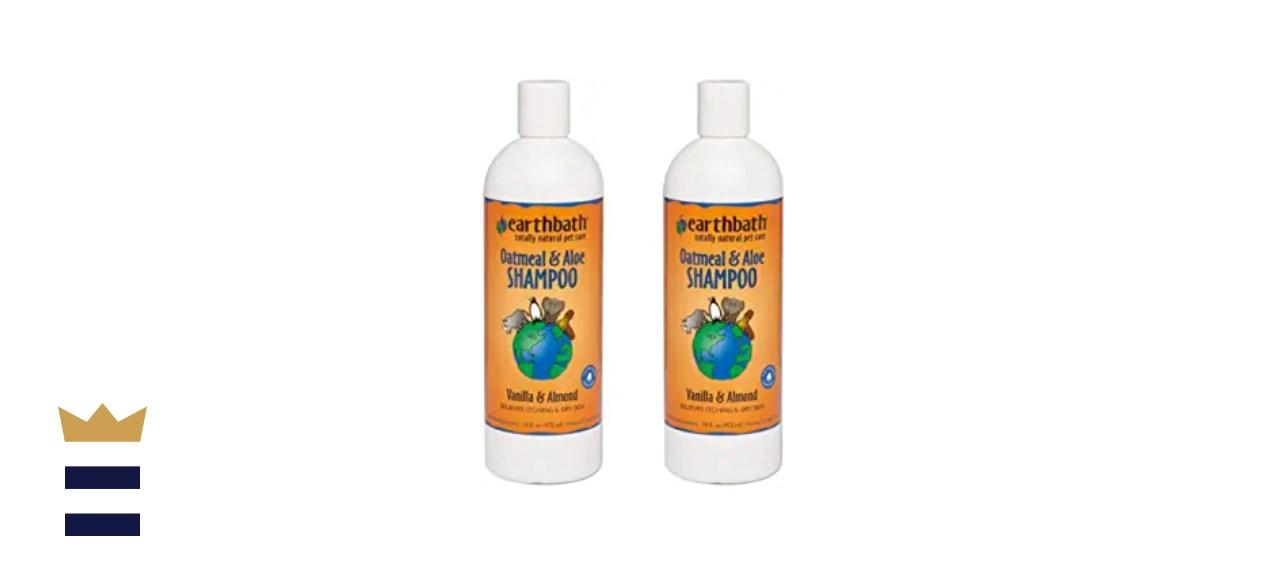 Earthbath Oatmeal & Aloe, Vanilla & Almond Pet Shampoo