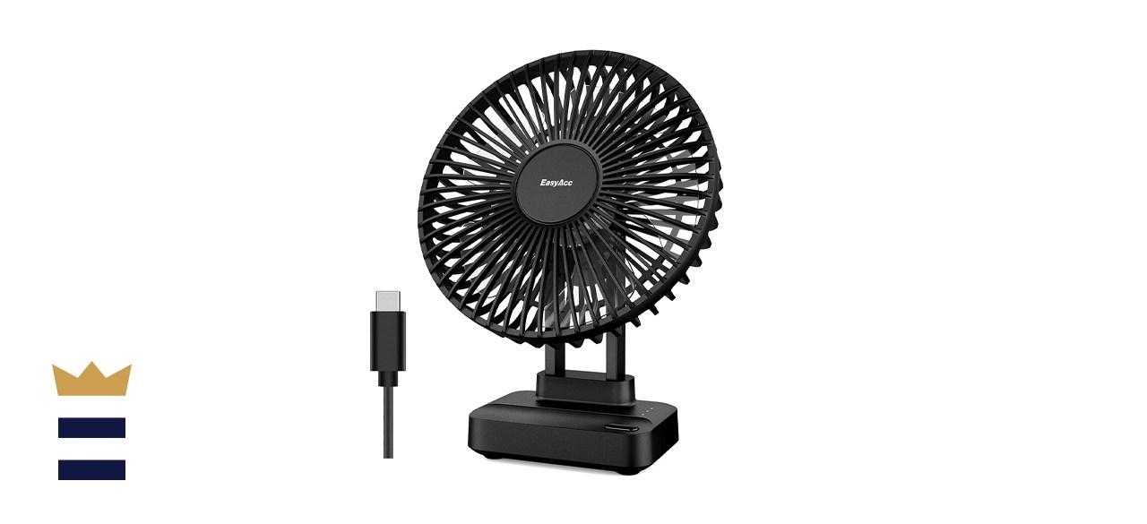 EasyAcc USB Desk Fan