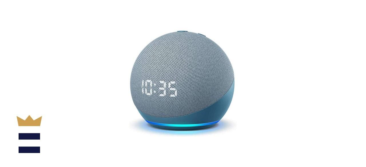 Echo Dot (4th Gen) Smart speaker with clock