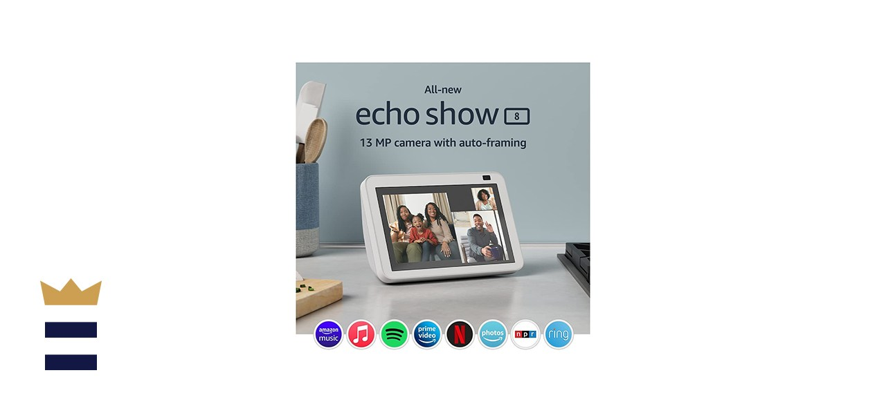 Echo Show 8 (2nd Gen, 2021 release) | HD smart display with Alexa and 13 MP camera