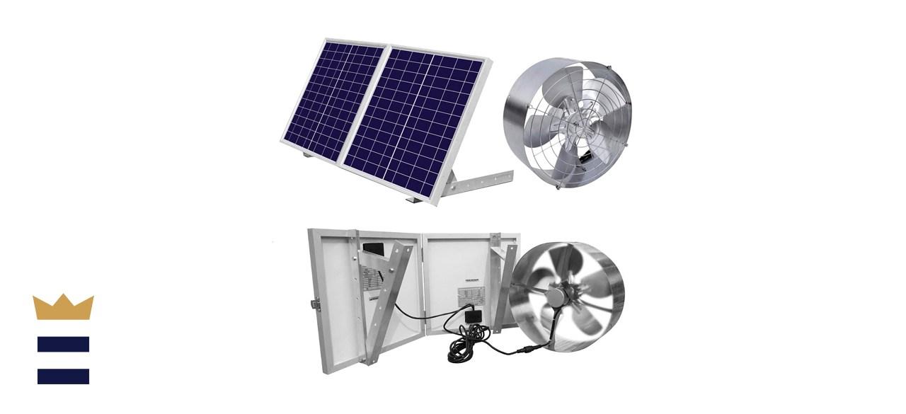 ECO-WORTHY 25W Solar Powered Attic Fan