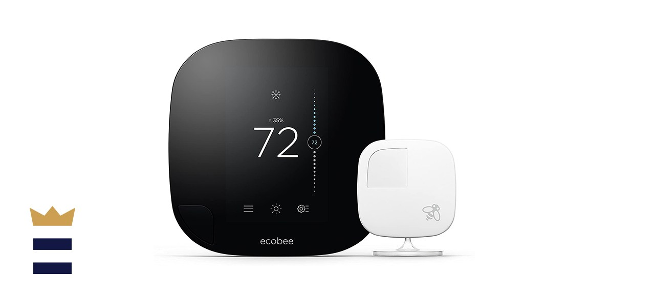 ecobee3 Smarter Wi-Fi Thermostat with Remote Senso