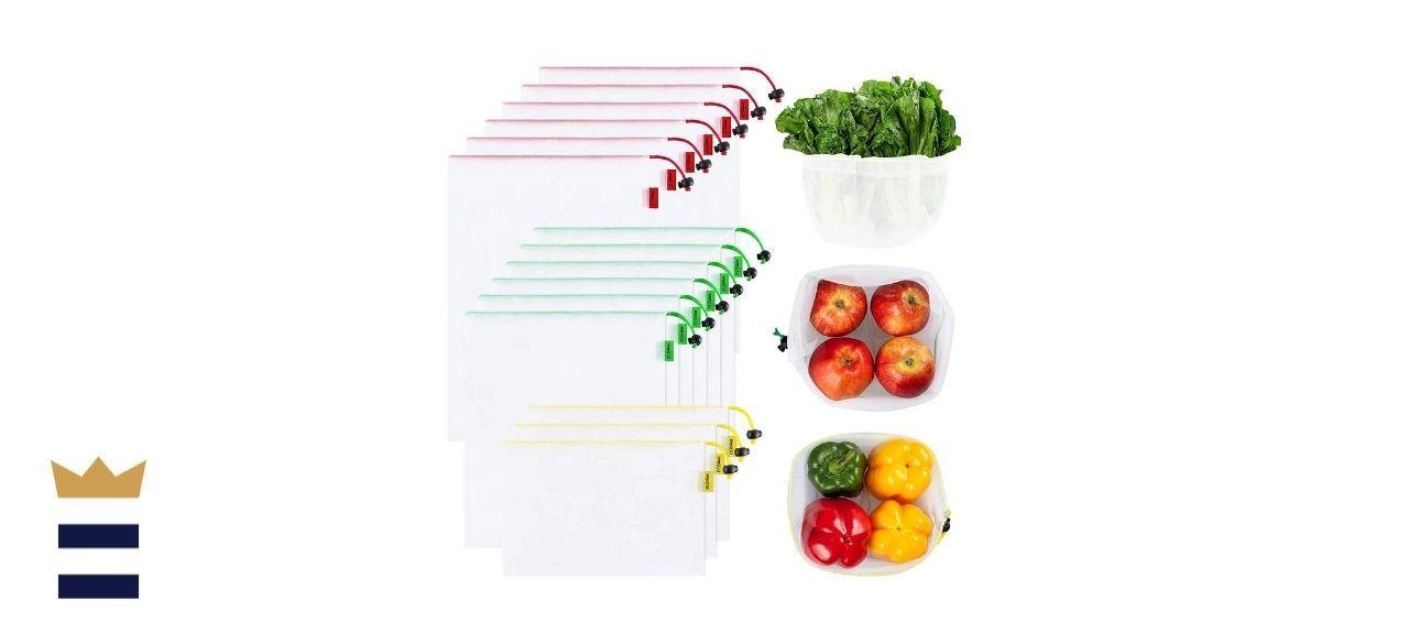 Ecowaare's Reusable Mesh Produce Bags