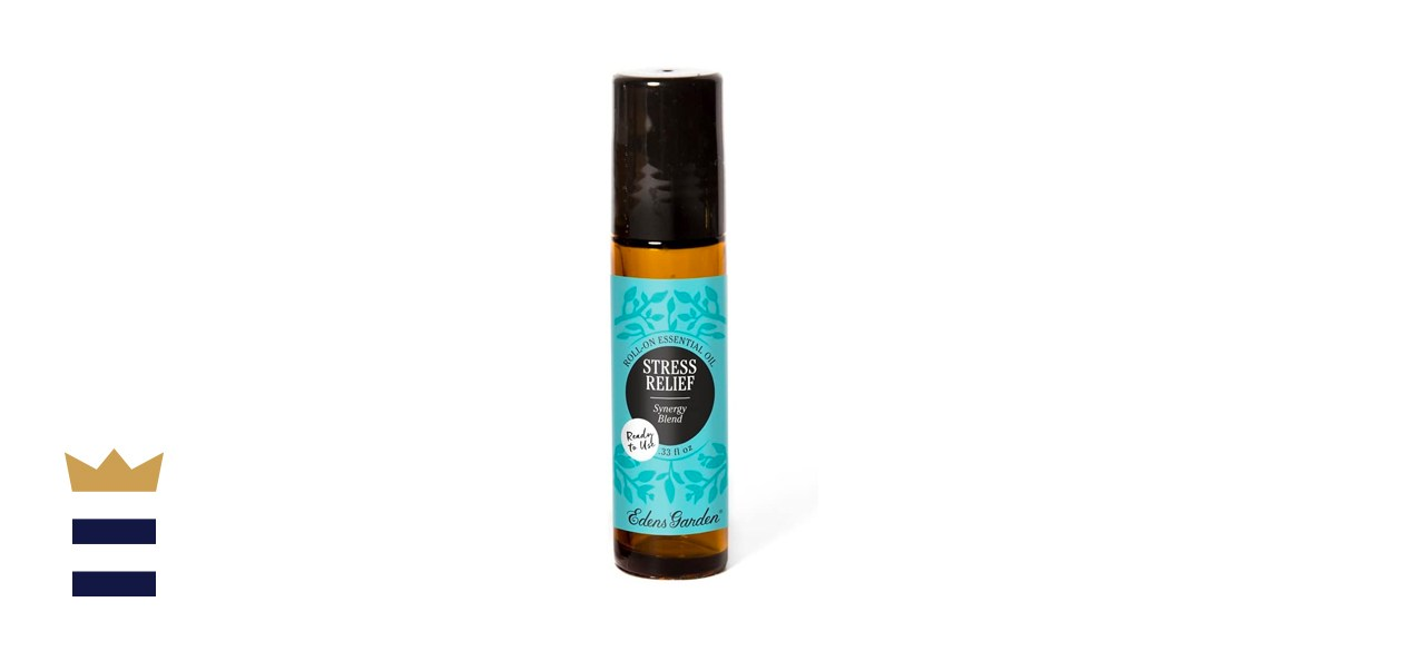 Edens Garden Roll-on Stress Relief Essential Oil Synergy Blend
