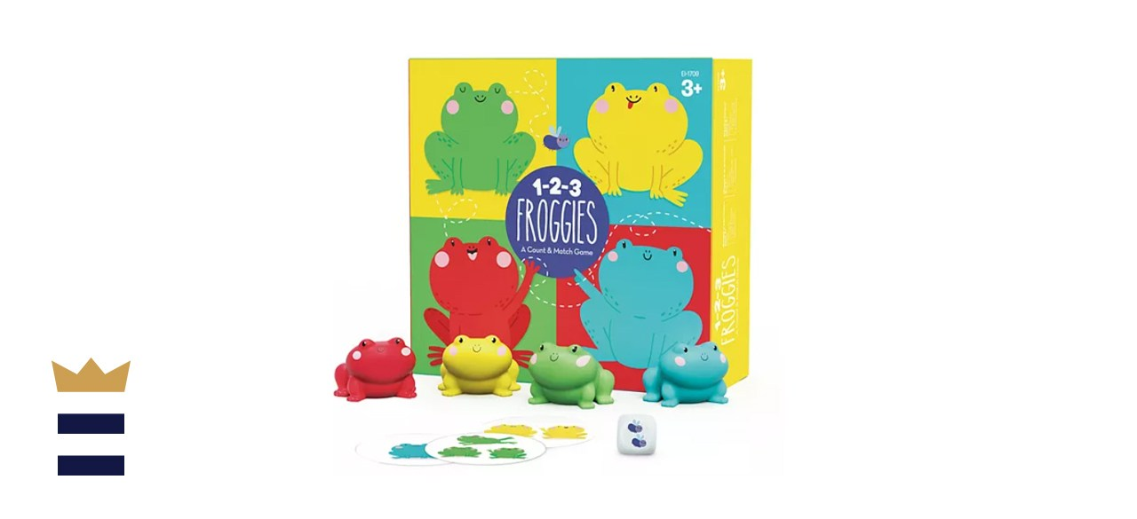 Educational Insights 1-2-3 Froggies Game