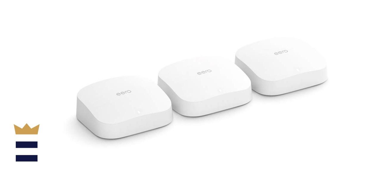 Amazon eero Pro 6 tri-band mesh Wi-Fi 6 system