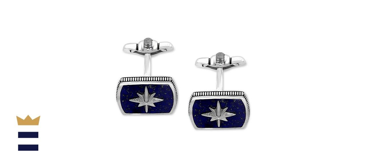 EFFY Collection Men's Lapis Lazuli Starburst Cufflinks