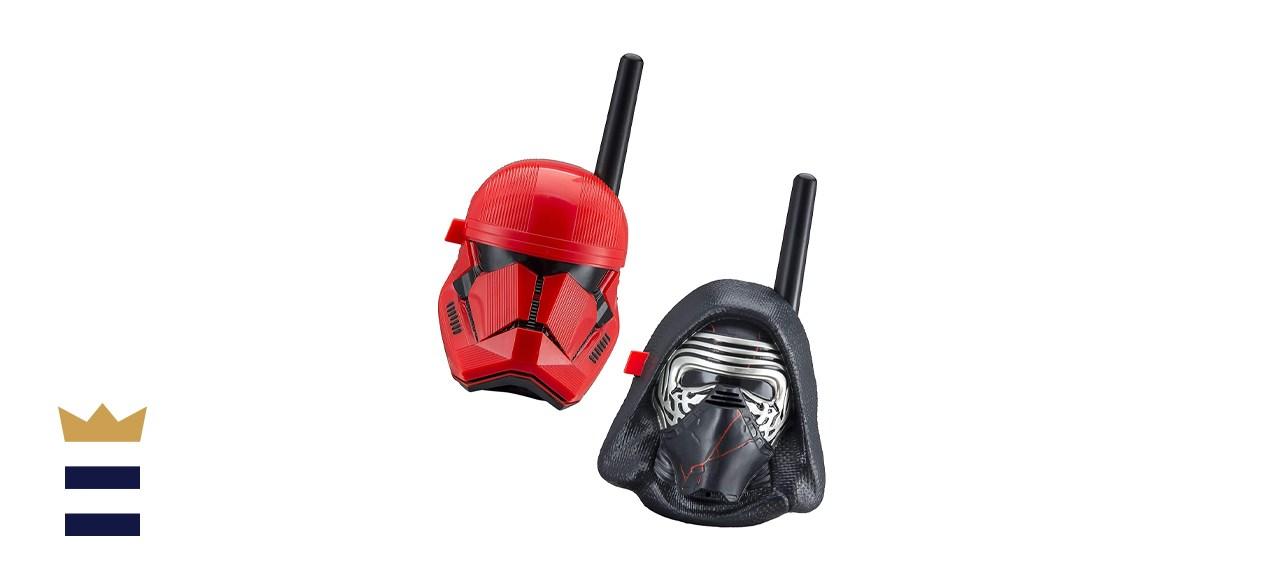 eKids Star Wars Kylo Ren & First Order Trooper Kids Walkie Talkies