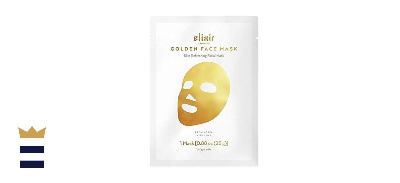 Elixir Premium Lab 24K Golden Skin Refreshing Face Mask