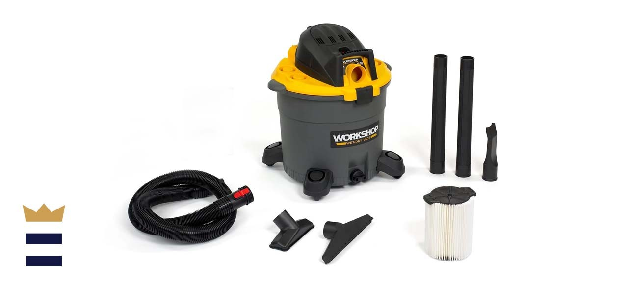 Emerson WORKSHOP High-Capacity 16-Gallon Wet/Dry Vacuum
