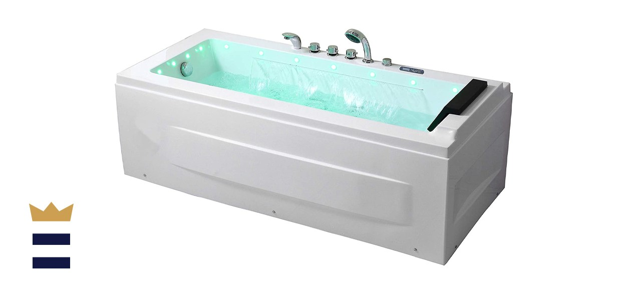 Empava 67-inch Acrylic Whirlpool Bathtub