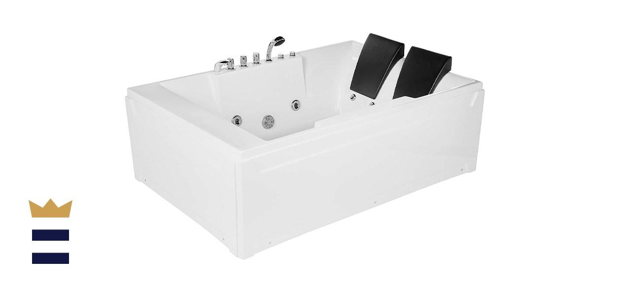 Empava 72-inch Acrylic Whirlpool Bathtub