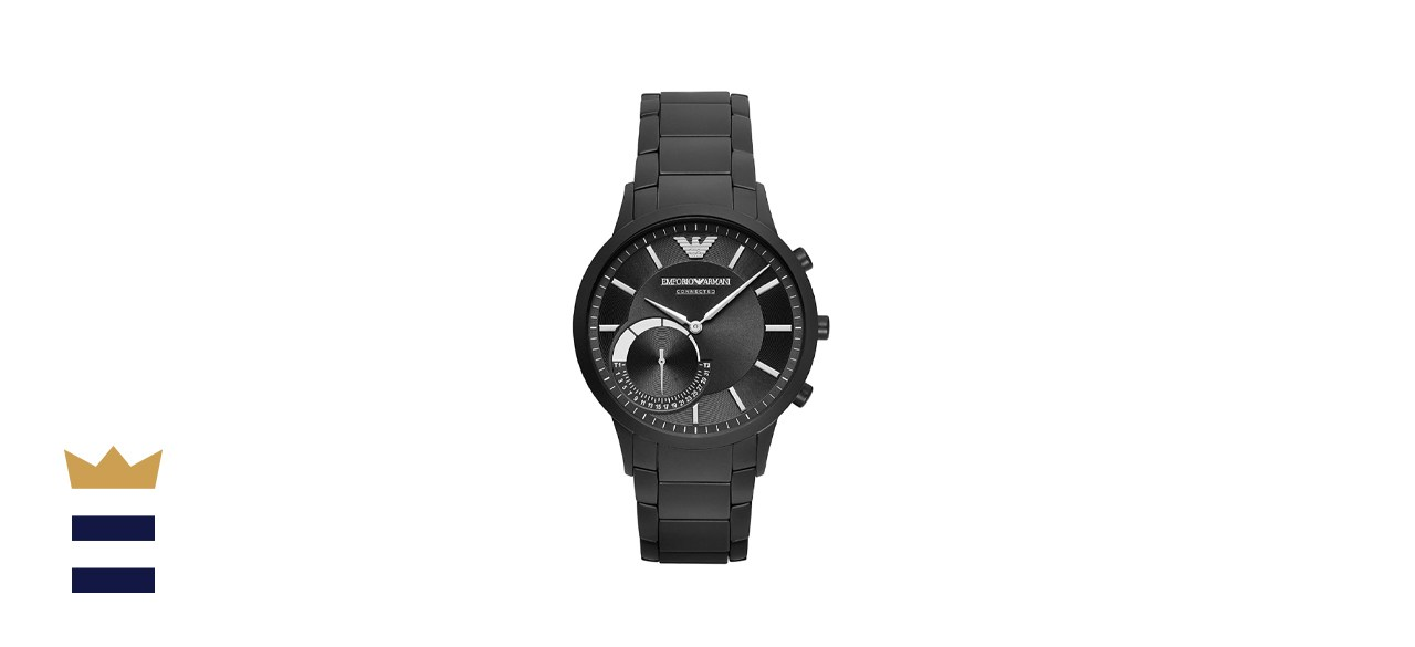 Emporio Armani Men's Stainless Steel Hybrid Smartwatch