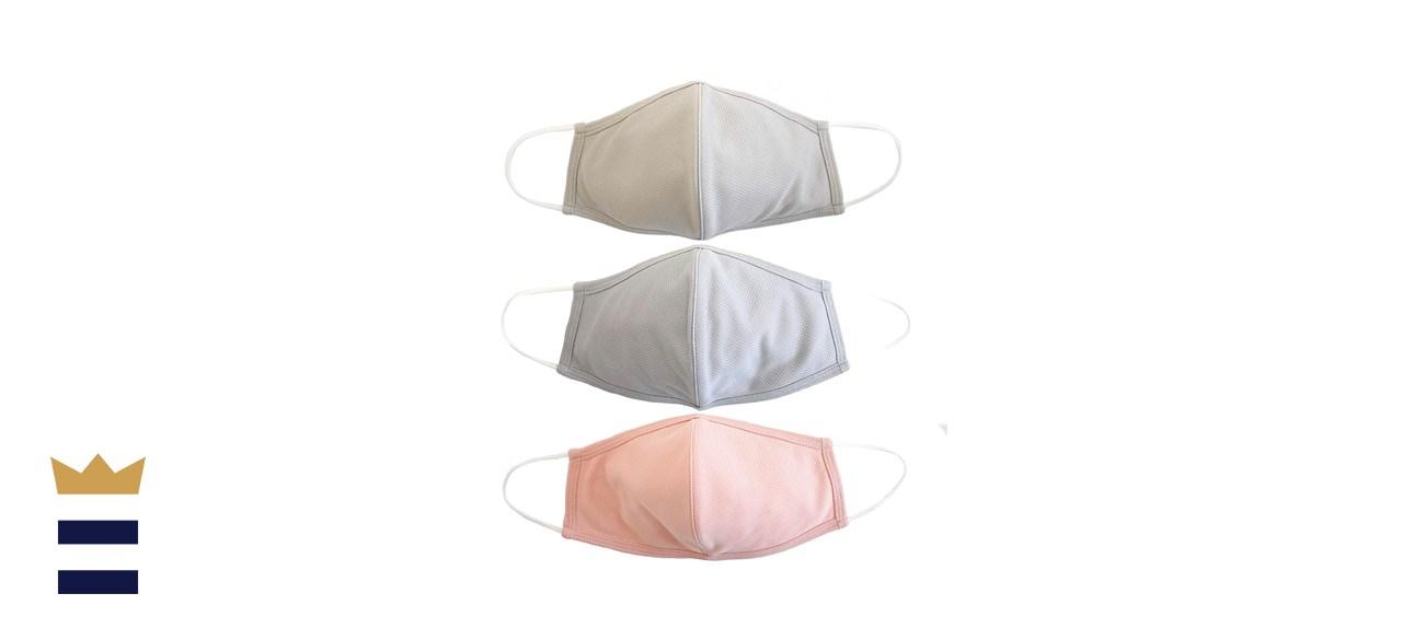 EnerPlex Comfort 3-Ply Reusable Face Mask, 3-Pack