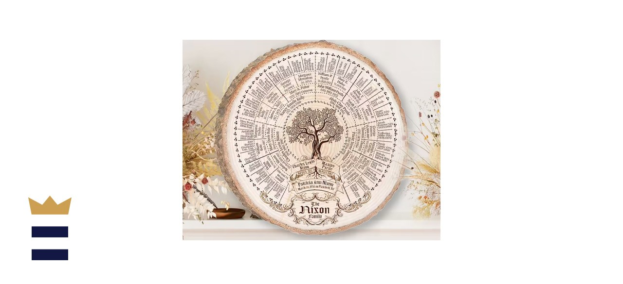 Engraved Family Tree Chart