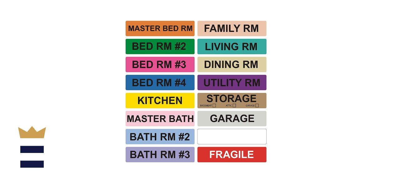 enKo - Home Moving Packing Labels Stickers