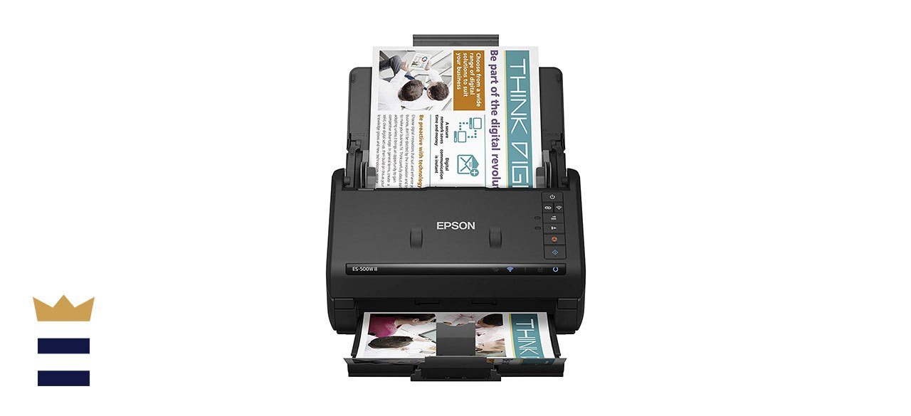 Epson WorkForce ES-500W II Wireless Color Duplex Document Scanner