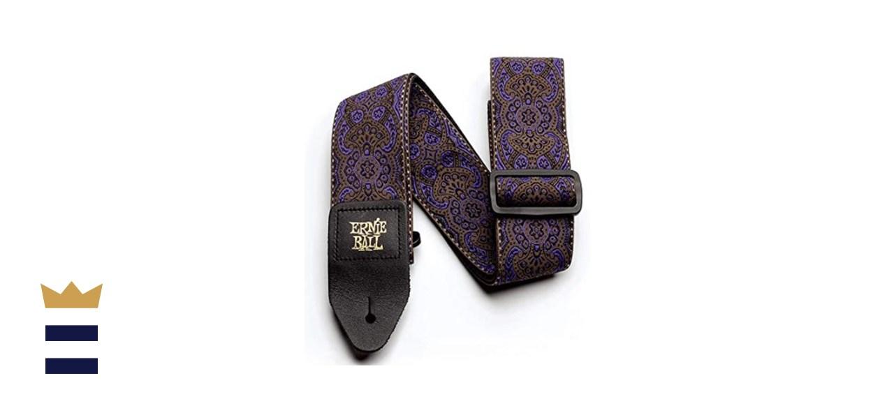 Ernie Ball Imperial Paisley Purple Jacquard Guitar Strap