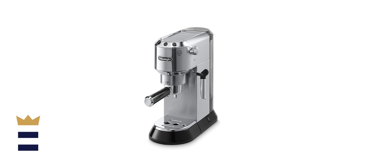 espresso machine with a steaming wand