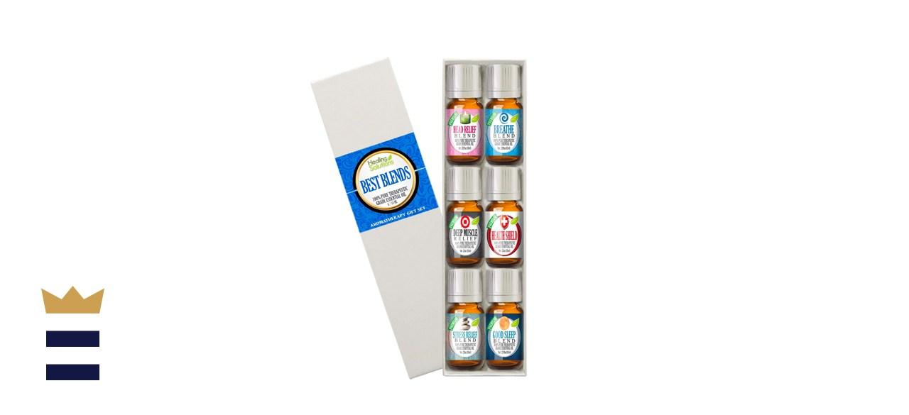 Essential Oils Best Blends Set of 6-100% Pure