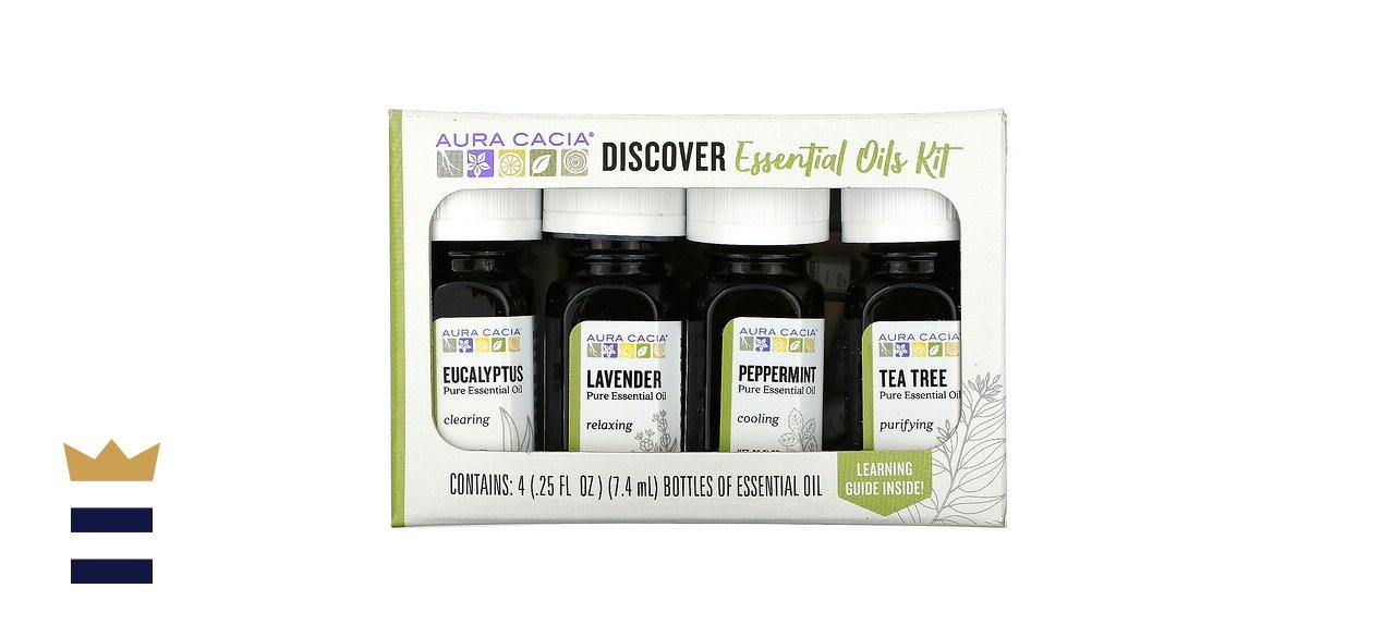 Aura Cacia, Discover Essential Oils Kit